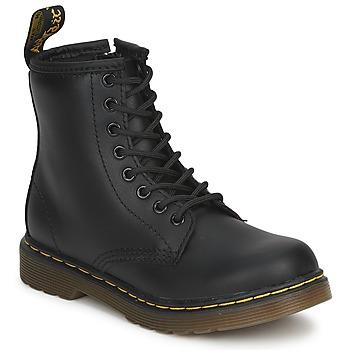 Pantofi Copii Ghete Dr Martens DM J BOOT Negru