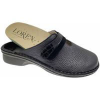 Pantofi Femei Saboti Calzaturificio Loren LOM2847blu blu