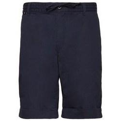 Îmbracaminte Bărbați Pantaloni scurti și Bermuda Aeronautica Militare 201BE082CT2601 Albastru marim