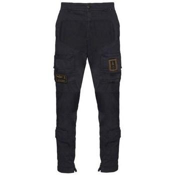 Îmbracaminte Bărbați Pantaloni Cargo Aeronautica Militare PA1387CT149308 Negre