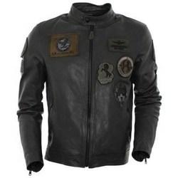 Îmbracaminte Bărbați Geci și Jachete Aeronautica Militare PN5011 Negre