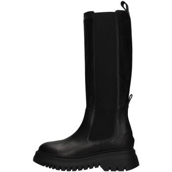 Pantofi Femei Cizme casual Janet&Janet 02204 BLACK