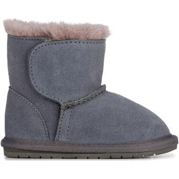 Pantofi Copii Ghete EMU Toddle Charcoal