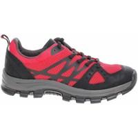 Pantofi Femei Drumetie și trekking Jana 882373527500 Negre, Roșii