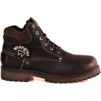 Pantofi Bărbați Ghete Wrangler WM182003 Maro