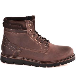 Pantofi Bărbați Ghete Wrangler WM182011 Maro
