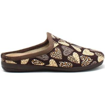 Pantofi Femei Papuci de casă Susimoda 6121 Maro