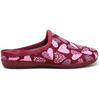 Pantofi Femei Papuci de casă Susimoda 6121 Roșu