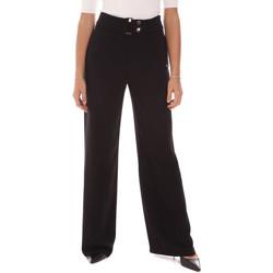 Îmbracaminte Femei Pantaloni fluizi și Pantaloni harem Gaudi 121FD25014 Negru