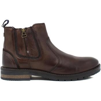 Pantofi Bărbați Ghete Wrangler WM12052A Maro