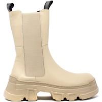 Pantofi Femei Botine Keys K-5742 Bej