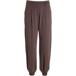 Îmbracaminte Femei Pantaloni fluizi și Pantaloni harem Fracomina F321WV4002W45901 Maro
