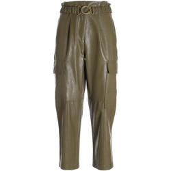 Îmbracaminte Femei Pantaloni trei sferturi Fracomina F321WV5001E40201 Verde