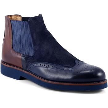 Pantofi Bărbați Ghete Exton 445 Albastru