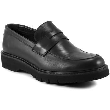 Pantofi Bărbați Mocasini Exton 662 Negru