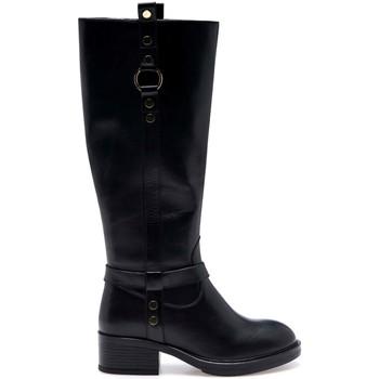 Pantofi Femei Cizme casual Apepazza F1BEATRIX11/LEA Negru