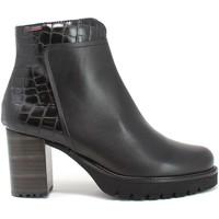Pantofi Femei Botine CallagHan 21930 Negru
