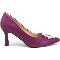 Pantofi Femei Pantofi cu toc Gold&gold B21 GP155 Violet