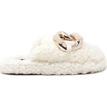 Pantofi Femei Papuci de casă Gold&gold B21 FL159 Alb