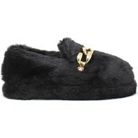 Pantofi Femei Papuci de casă Gold&gold B21 FL158 Negru