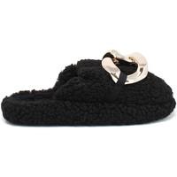 Pantofi Femei Papuci de casă Gold&gold B21 FL159 Negru