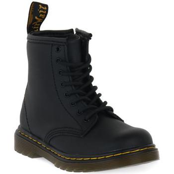 Pantofi Copii Ghete Dr Martens 1460 BLACK SOFTY T Nero