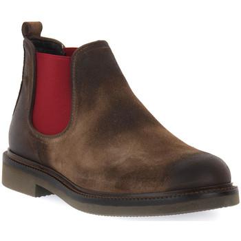 Pantofi Bărbați Ghete Exton ANTICATO STEPPA Marrone