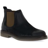 Pantofi Bărbați Ghete Exton ANTICATO NERO Nero