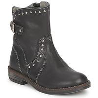 Pantofi Fete Ghete Noel FRANCA Negru