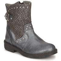 Pantofi Fete Ghete Noel FRANCA Argintiu