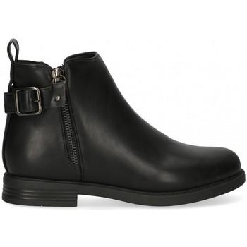 Pantofi Fete Botine Bubble 58922 Negru