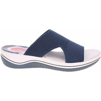Pantofi Femei Saboti Jana 882722828805 Albastru marim