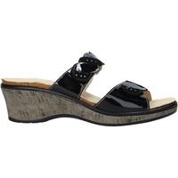 Pantofi Femei Papuci de vară Susimoda 1611 Negru