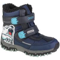 Pantofi Băieți Cizme de zapadă Kappa Claw Tex K Bleu marine