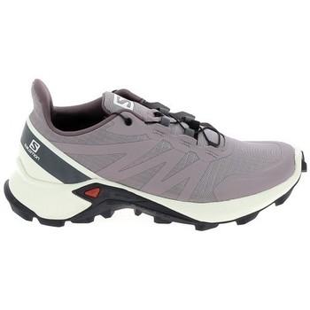 Pantofi Trail și running Salomon Supercross 5 Parme Bej