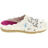 Pantofi Femei Papuci de casă Boissy JM65473 Beige Bej