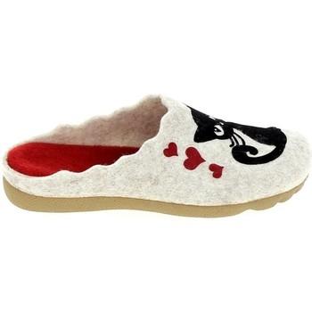 Pantofi Femei Papuci de casă Boissy JH65504 Beige Bej