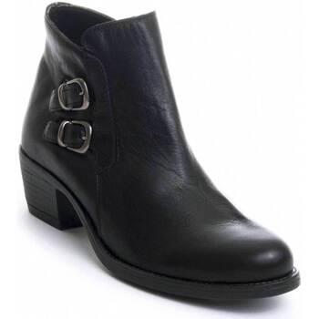 Pantofi Femei Botine Purapiel 72280 BLACK
