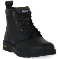 Pantofi Bărbați Ghete Blauer BLK GUANTANAMO 6 Nero