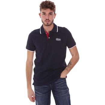 Îmbracaminte Bărbați Tricou Polo mânecă scurtă Key Up 2G92Q 0001 Albastru