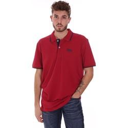 Îmbracaminte Bărbați Tricou Polo mânecă scurtă Key Up 2G92Q 0001 Roșu