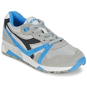 Încăltăminte Pantofi sport Casual Diadora N9000  NYL Gri / Albastru / Negru