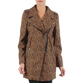 Îmbracaminte Femei Paltoane Brigitte Bardot BB43110 Maro / Leopard