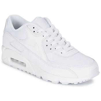 Încăltăminte Bărbați Pantofi sport Casual Nike AIR MAX 90 ESSENTIAL Alb