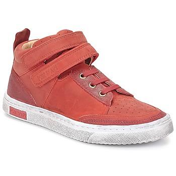 Pantofi Fete Pantofi sport stil gheata Pom d'Api BACK BASKET Roșu