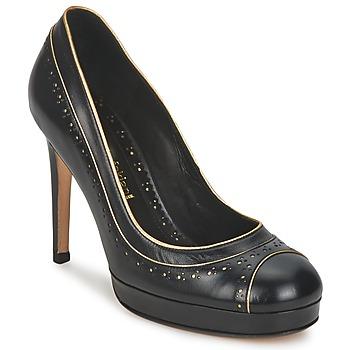 Pantofi Femei Pantofi cu toc Sarah Chofakian SUZANNE Negru