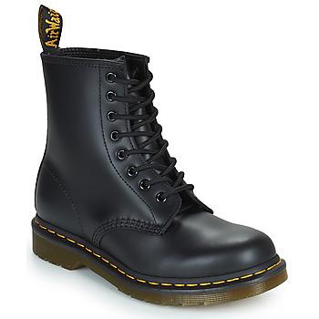 Pantofi Ghete Dr Martens 1460 8 EYE BOOT Black