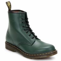 Pantofi Femei Botine Dr Martens 1460 8 EYE BOOT Verde