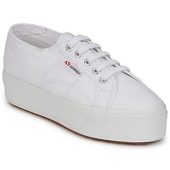 Pantofi Femei Papuci de casă Superga 2790 LINEA White