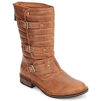 Pantofi Femei Cizme casual UGG TATUM Chestnut